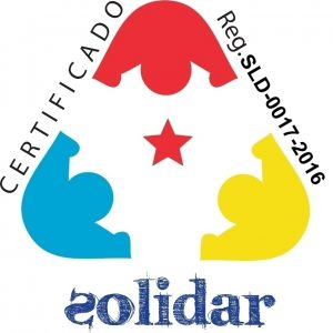 CERTIFICADO SOLIDAR - SLD-0017-2016 - 1E